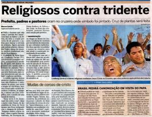 Alexandr Vogler: repercussão da intervenção Tridente em Nova Iguaçu, RJ