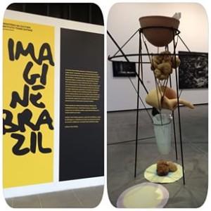 Imagine Brazil; Detalhe com obra de Tunga.